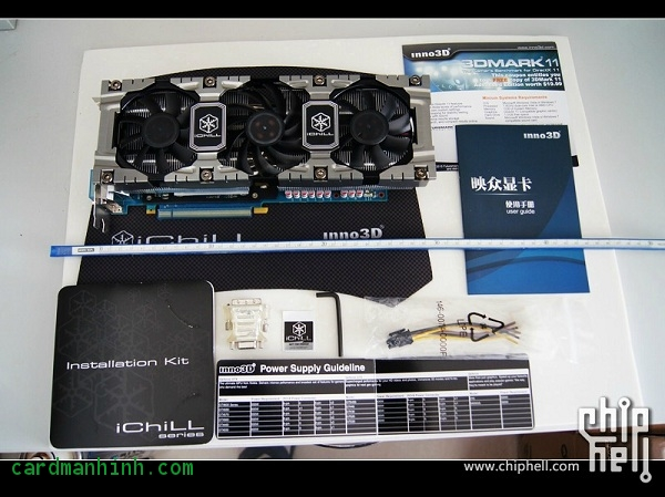 Card màn hình GeForce GTX 670 Ice Dragon