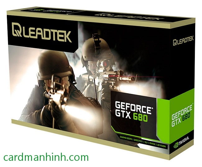 Card màn hình Leadtek NVIDIA GeForce GTX 680 WinFast 4GB