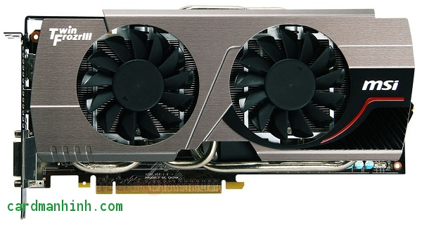 Card màn hình GeForce GTX 680 Twin Frozr III OC