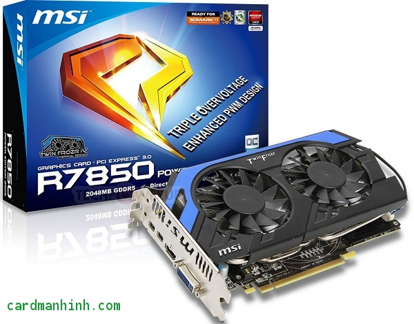 Card màn hình R7850 Power Edition 2GD5/OC