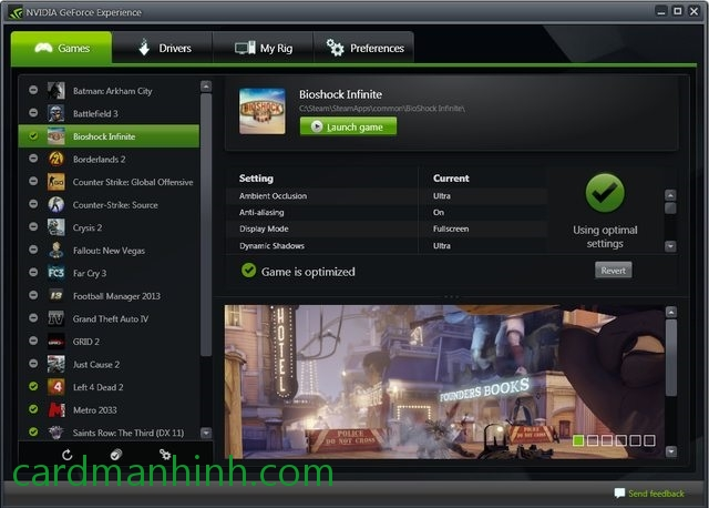 NVIDIA GeForce Experience 1.8.2