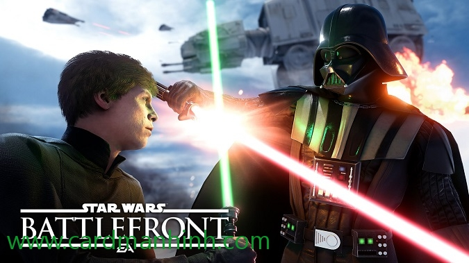 Review hiệu năng game Star Wars Battlefront