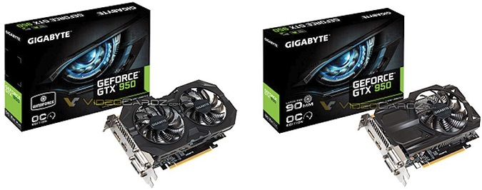 Gigabyte GeForce GTX 950