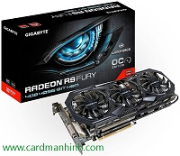 Card màn hình Gigabyte Radeon R9 Fury WindForce X3