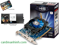 Card màn hình HIS Radeon HD 7730 iCooler 1GB