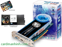 Card màn hình HIS Radeon HD 7750 IceQ 1GB
