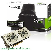 Card màn hình KFA2 GeForce GTX 960 EXOC White Edition