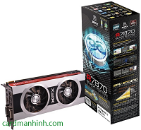 Card màn hình XFX Double D HD 7870 Black Edition