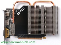 Card màn hình Zotac Silences Powerful GeForce GTX 750