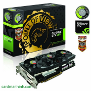 Point of View khởi động card màn hình NVIDIA GeForce GTX 680 Beast