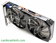 Review card màn hình Gigabyte GTX 650 Ti 2GB Windforce 2X