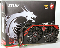 Review card màn hình MSI Radeon R9 280 3GB Gaming