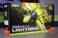 Review card màn hình MSI Radeon R9 290X Lightning